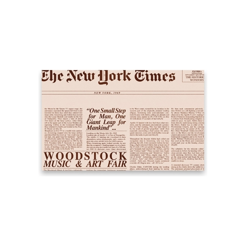 Tovagliette journal (200 pezzi)