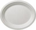 Piatti bio ovali (50 pezzi)