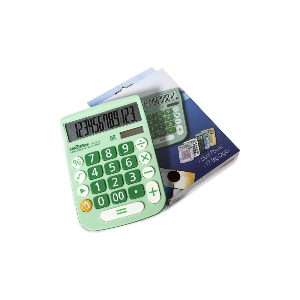 Calcolatrice nik a 12 cifre