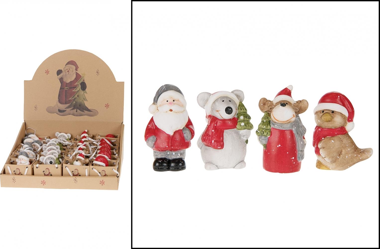 Soggetto natalizio in ceramica