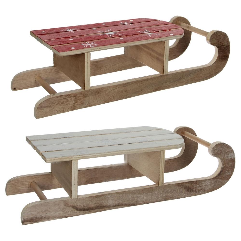 Slittino in legno
