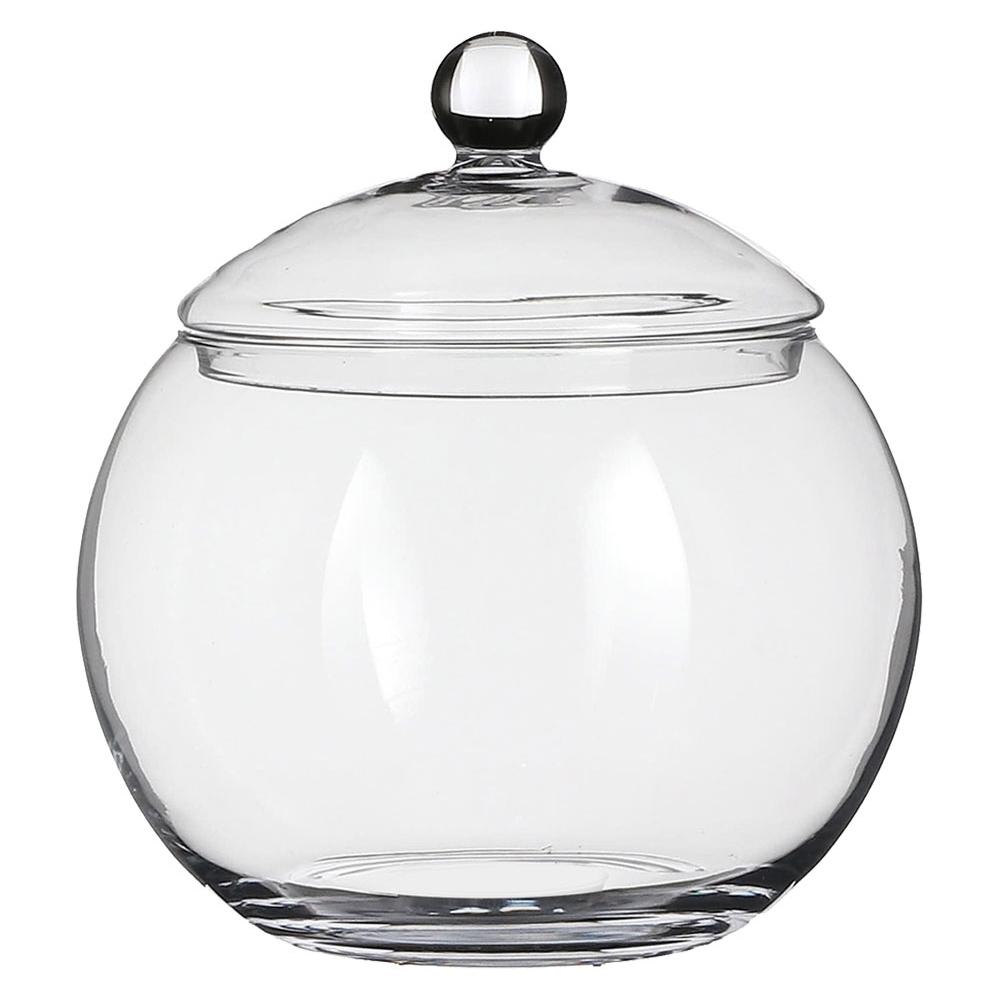 Barattolo in vetro con coperchio