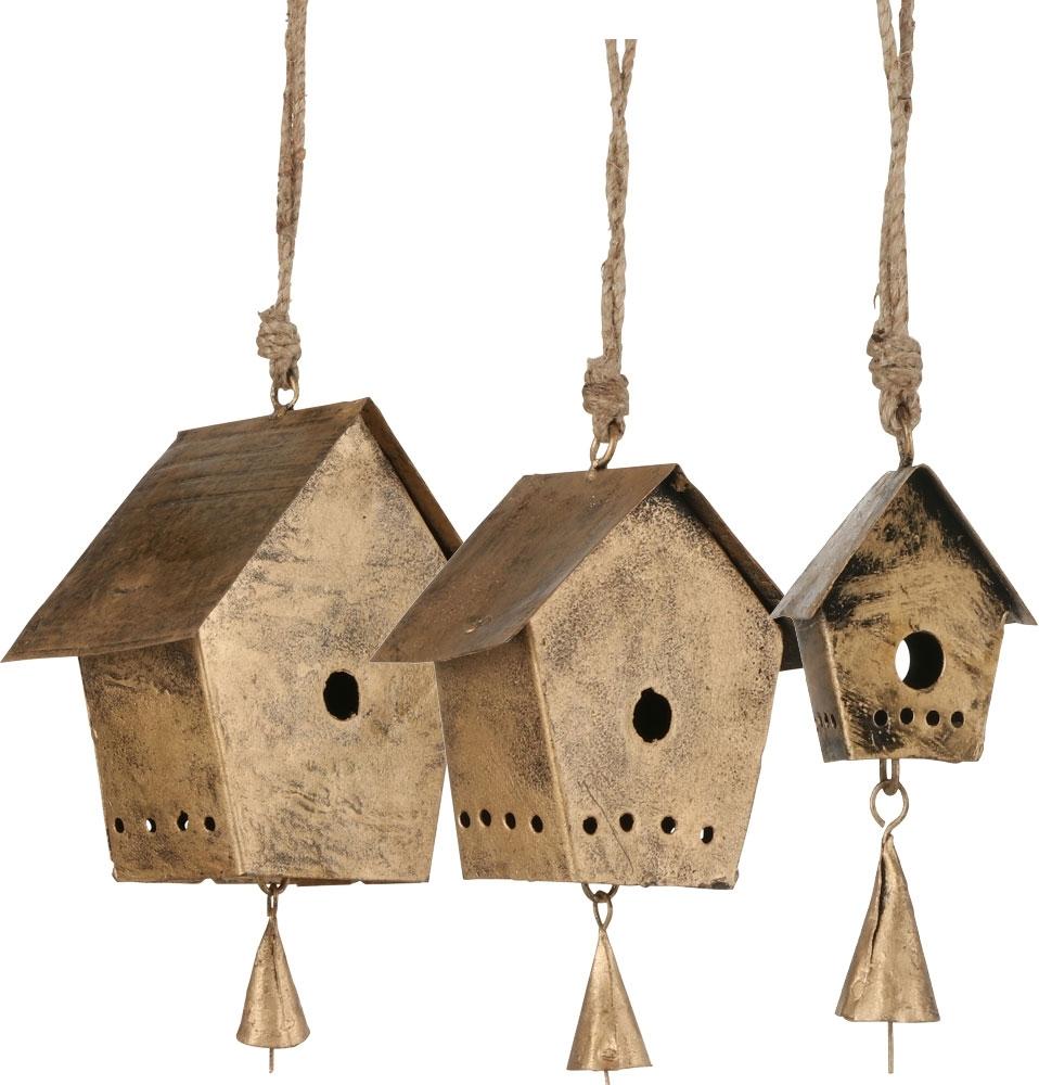 Casetta uccellini pendente