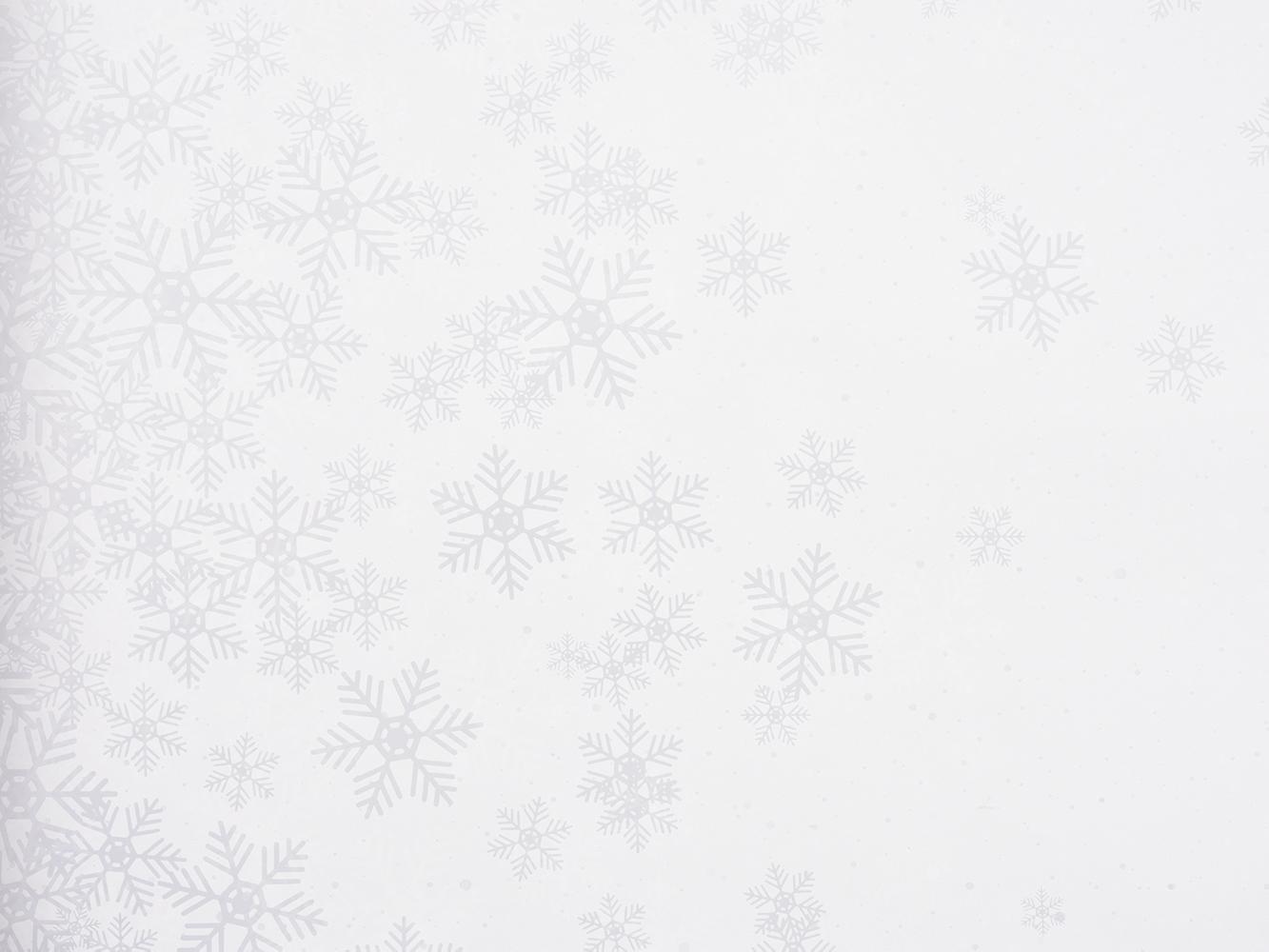 Carta in polipropilene winter calm bianca