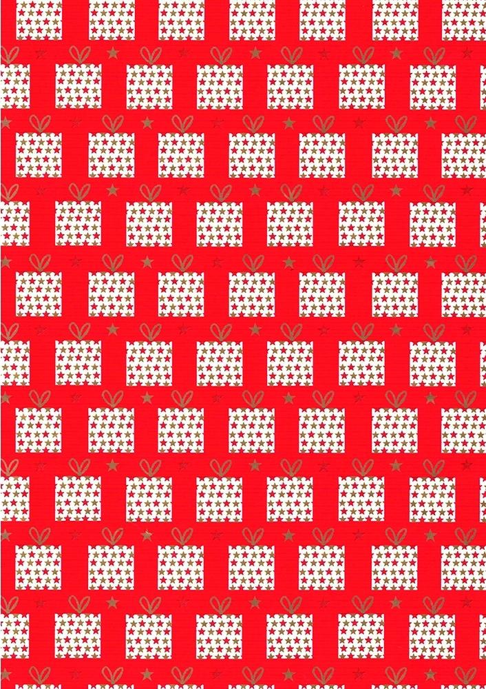 Carta raso con pacchetti regalo (25 fogli)