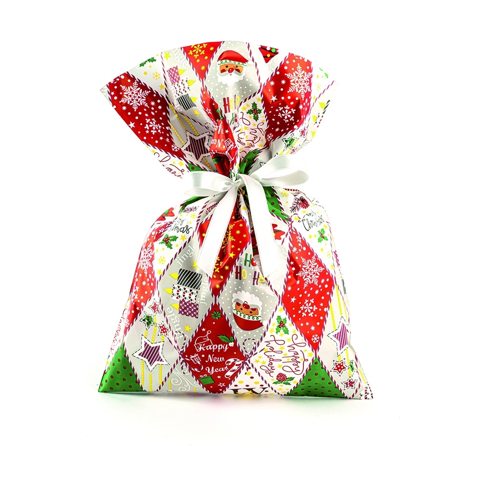 Buste regalo perlate patchwork (50 pezzi)