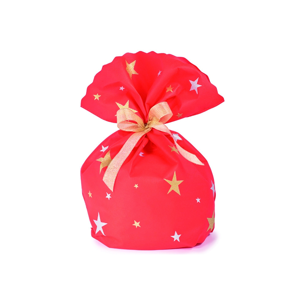 Buste in tessuto non tessuto per panettone stars (10 pezzi)