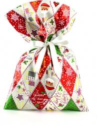 Buste regalo perllate Patchwork in confezione da 25 pezzi