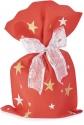 Buste in tessuto non tessuto con stampa stelle (10 pezzi)