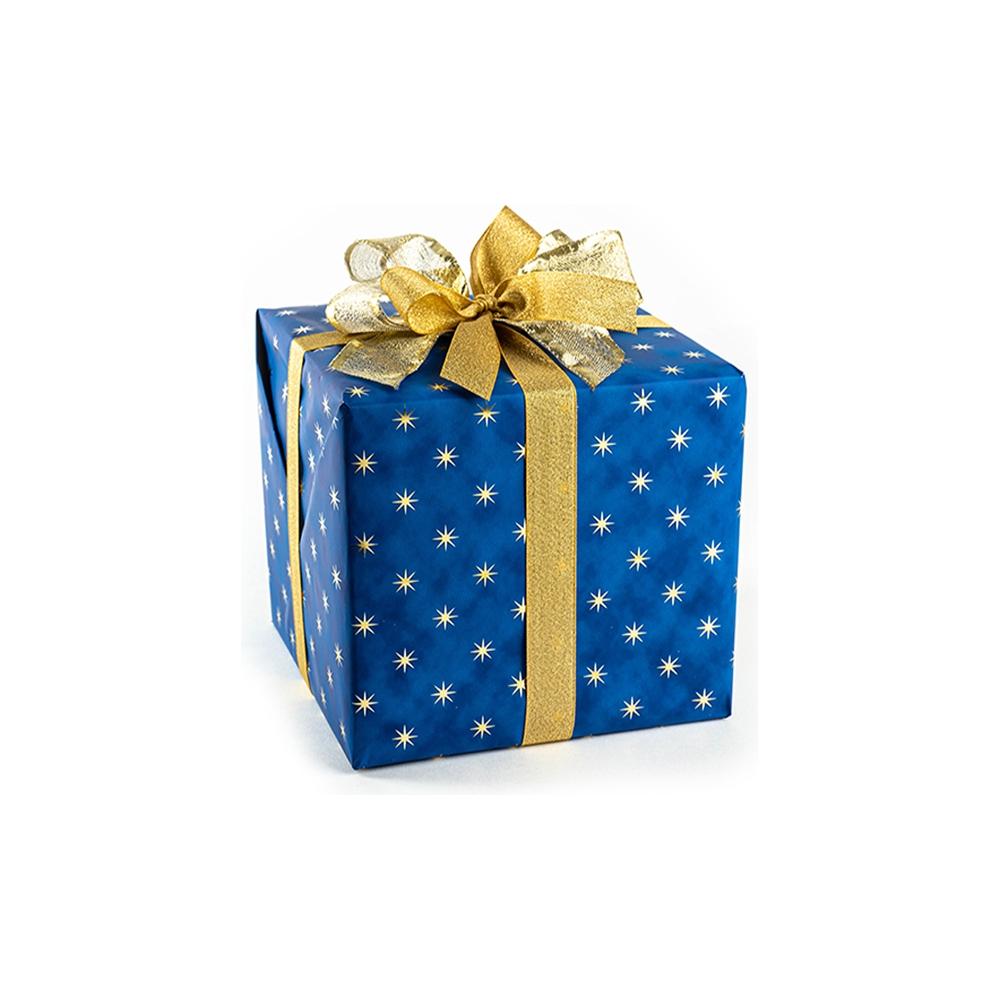 Carta da regalo stelle oro reflex (25 fogli)