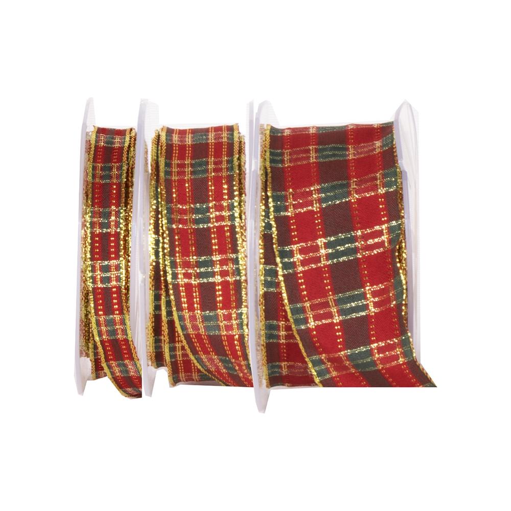 Nastro scozzese lurex animato