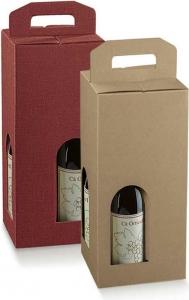 Scatole per quattro bottiglie con maniglia - VENDITA ONLINE ALL'INGROSSO
