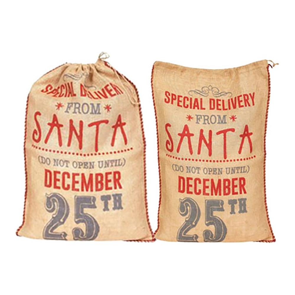 Sacco juta special from santa