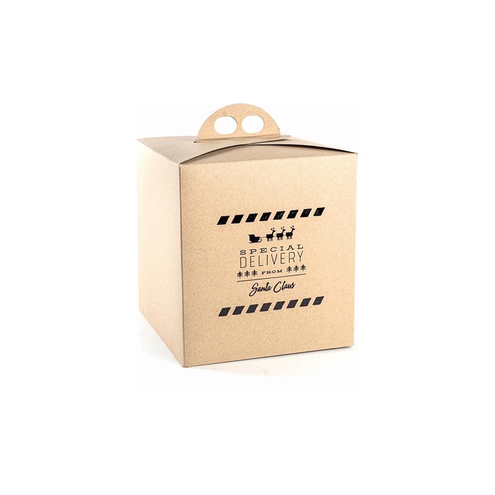 Scatole per panettone special delivery avana