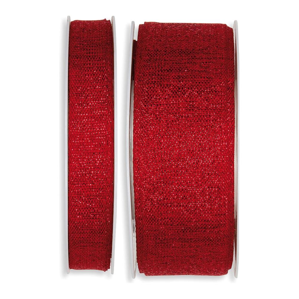 Nastro tela lurex rosso