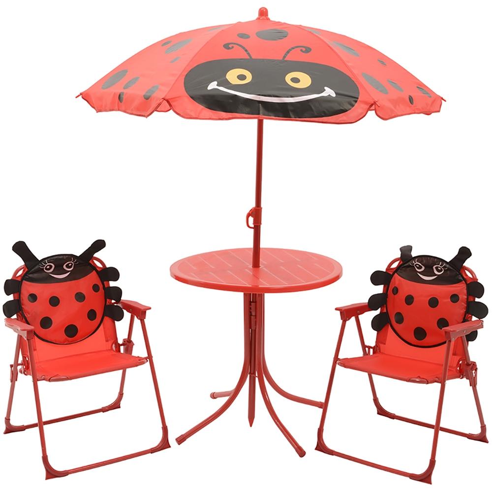Tavolo e sedie da giardino per bimbi