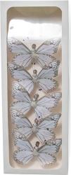farfalle con clip in confezione da 6 pezzi