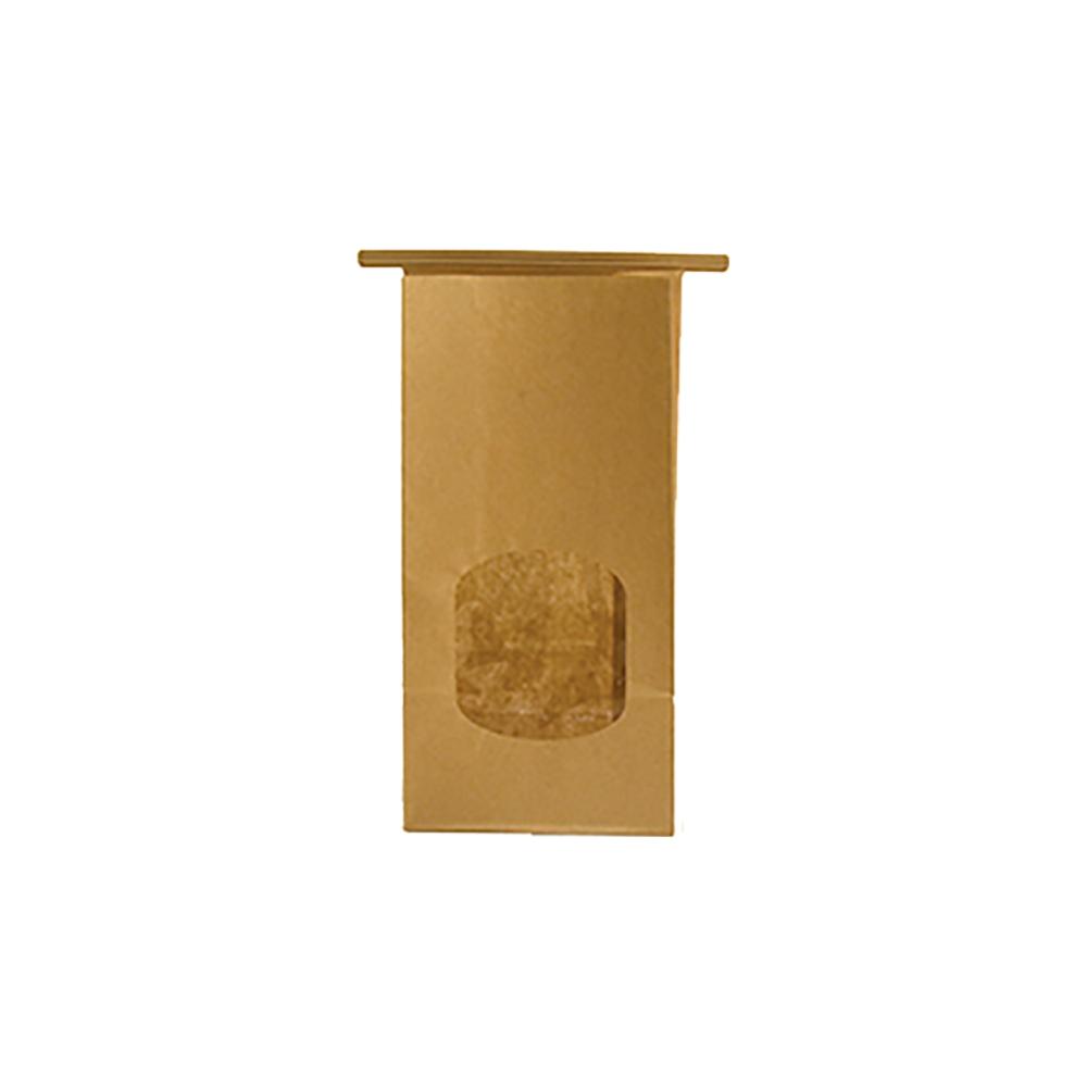 Sacchetti in carta con chiusura e finestra (12 pezzi)