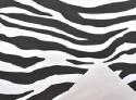 Carta in polipropilene zebra nero