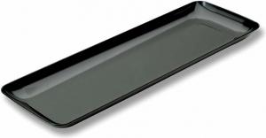 Vassoio Nero Rettangolare Riutilizzabile 20x28 cm (20 pezzi) | Vendita online all'ingrosso