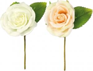 Rosellina con foglie in confezione da 12 pezzi
