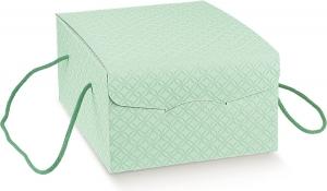 Scatola segreto per colomba da 750gr. colore pasquale verde