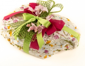 Carta in polipropilene prato fiorito