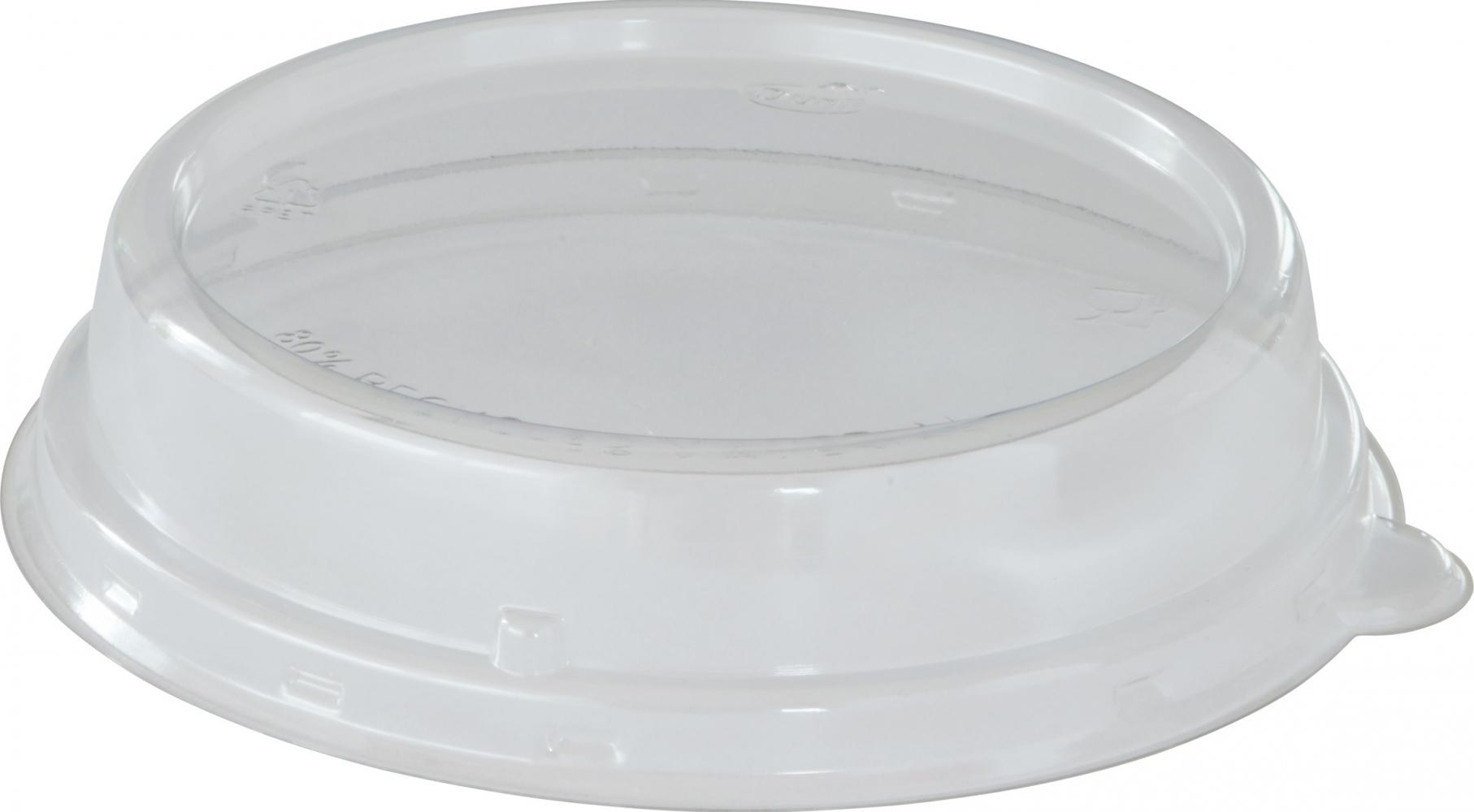 coperchio trasparente in Rpet per ciotole e insalatiere per alimenti take away