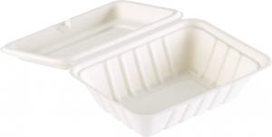 Vaschetta eco in bagassa take away per alimenti delivery ingrosso b2b online