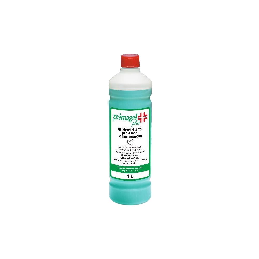 Gel igienizzante mani in flacone da 1 litro
