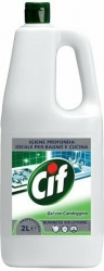 Gel con candeggina Cif