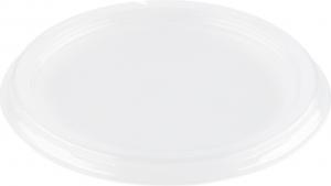 Coperchio rotondo trasparente in APET per ciotola in cartone 625ml | Vendita all'ingrosso online da Incartare