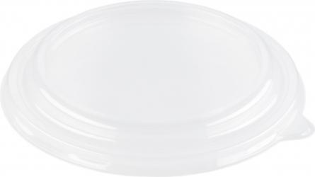 Coperchio tondo in plastica trasparente per ciotole e insalatiere in cartone bianco 775 ml | Vendita ingrosso online Incartare