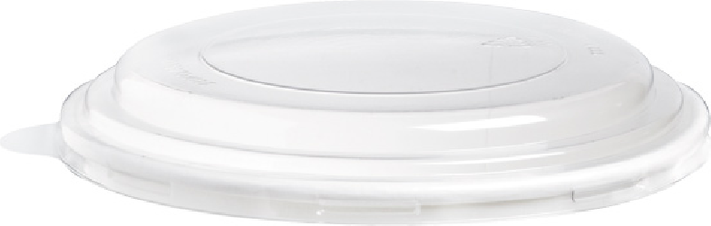 coperchio trasparente in pet per contenitore per alimenti delivery e take away