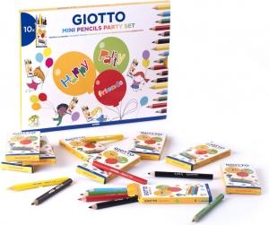 Mini pencils party set Giotto in confezione da 10 pezzi