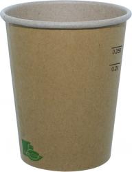 Bicchiere in cartoncino bio e compostabile