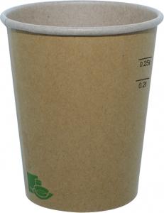 Bicchiere in cartoncino bio e compostabile | Vendita online all'ingrosso b2b