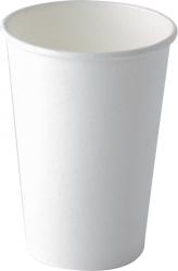 Bicchieri in cartoncino bianco