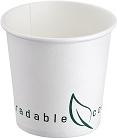 Bicchiere in cartoncino compostabile