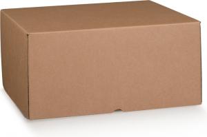 Scatola in cartoncino accoppiato avana naturale tipologia a marmotta - vendita all'ingrosso online incartare b2b