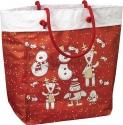 Sacchetti natalizi rossi modello cuba