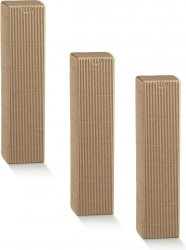 scatole modello petit in cartoncino ondulato avana