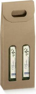 Scatole olivia per 2 bottiglie con maniglia Porta Olio - Ingrosso online per professionisti