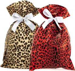 Buste regalo leopard in confezione da 50 pezzi