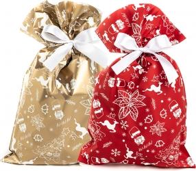 Buste regalo Happy Xmas in confezione da 50 pezzi