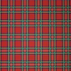 Carta regalo scozzese in confezione da 25 fogli