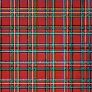 Carta regalo scozzese in confezione da 25 fogli. Vendita all'ingrosso e online