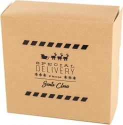 scatola scrigno con stampa special delivery