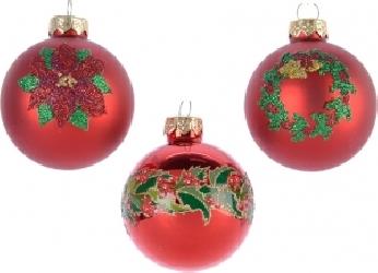 Pallina in vetro natalizia