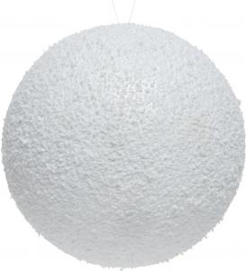 Palla di neve in polistirolo